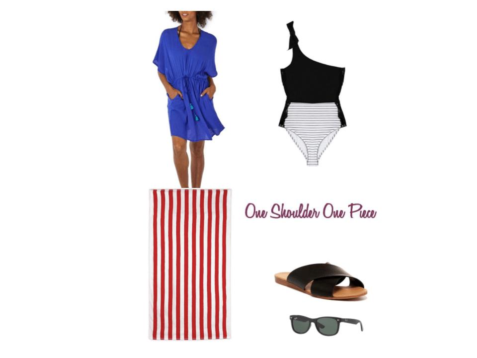 One- Shoulder Bikini