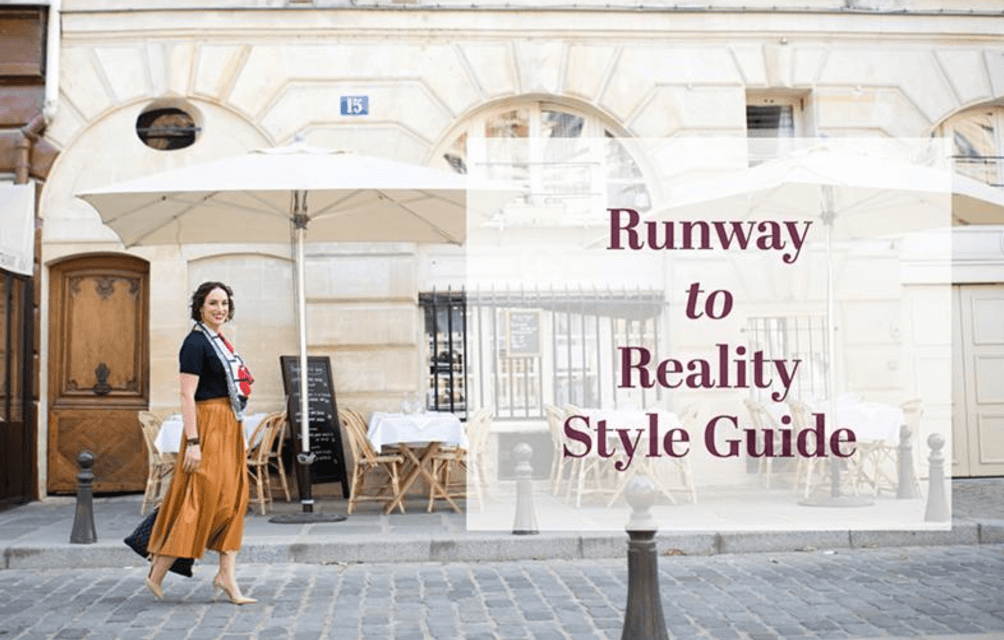 Runway to Reality Style Guide