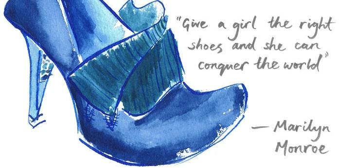 marilyn monroe quote illustration