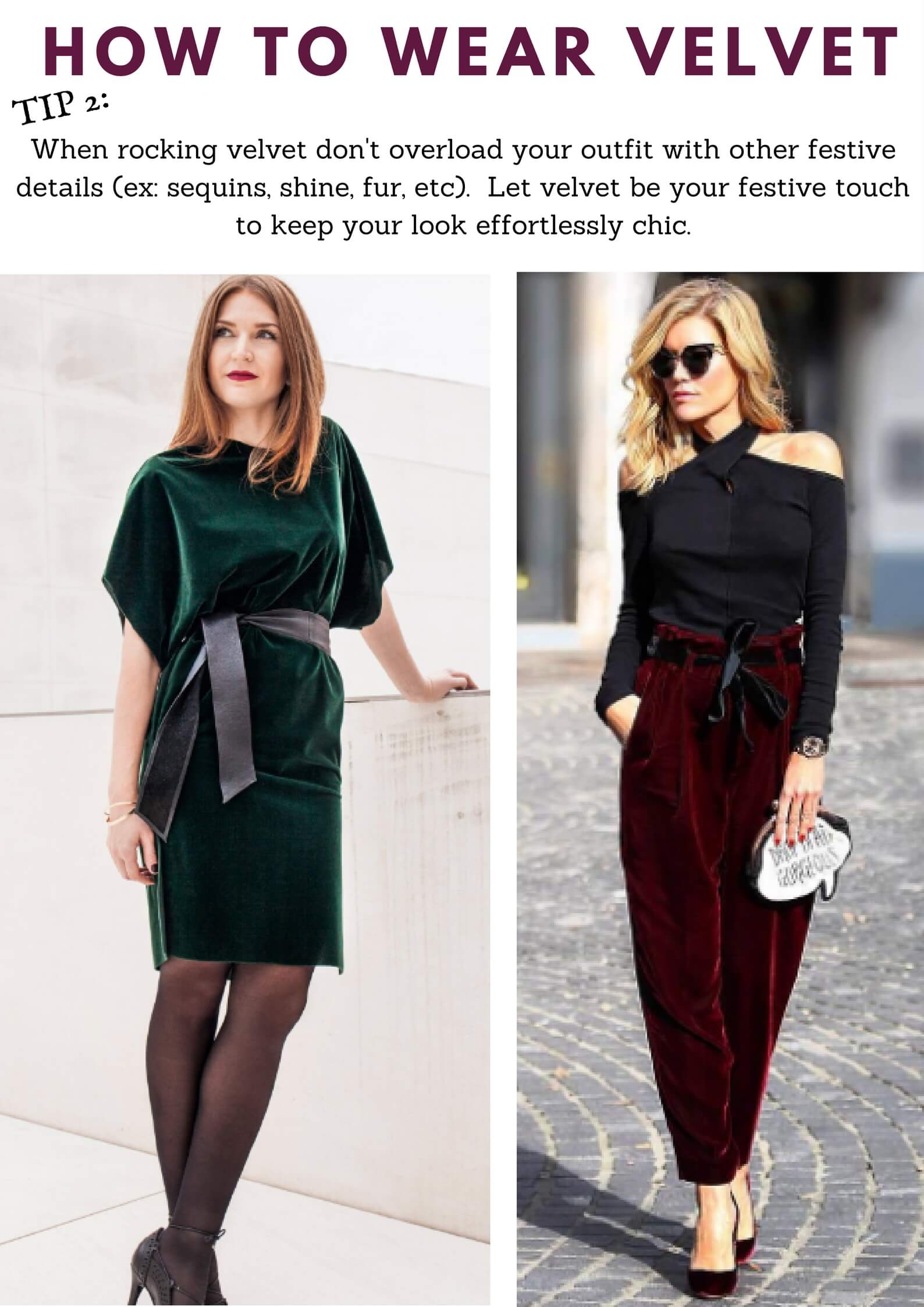 Velvet Outfit Ideas How To Wear