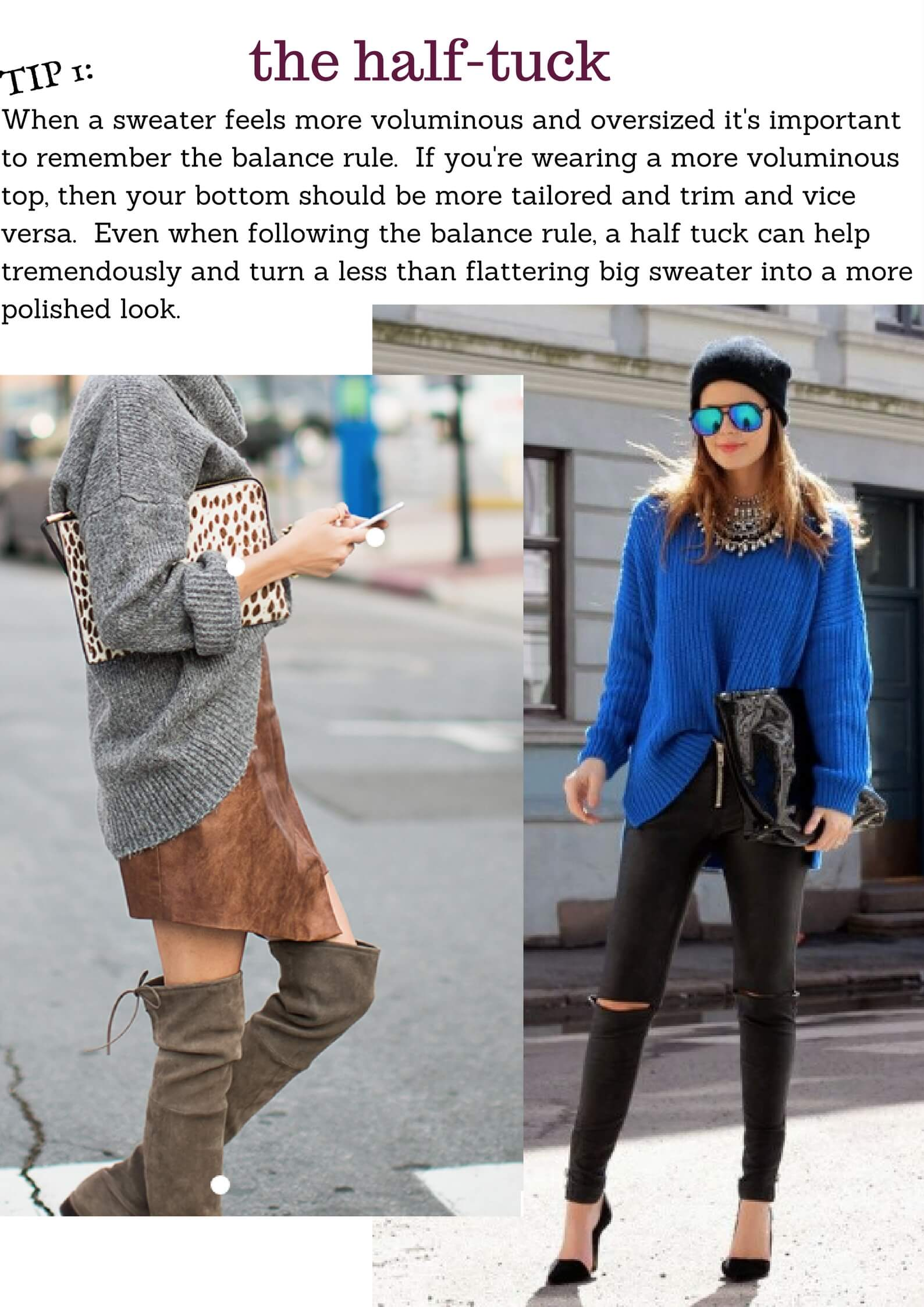 3 Best Ways To Wear Oversized Sweaters This Fall Best
