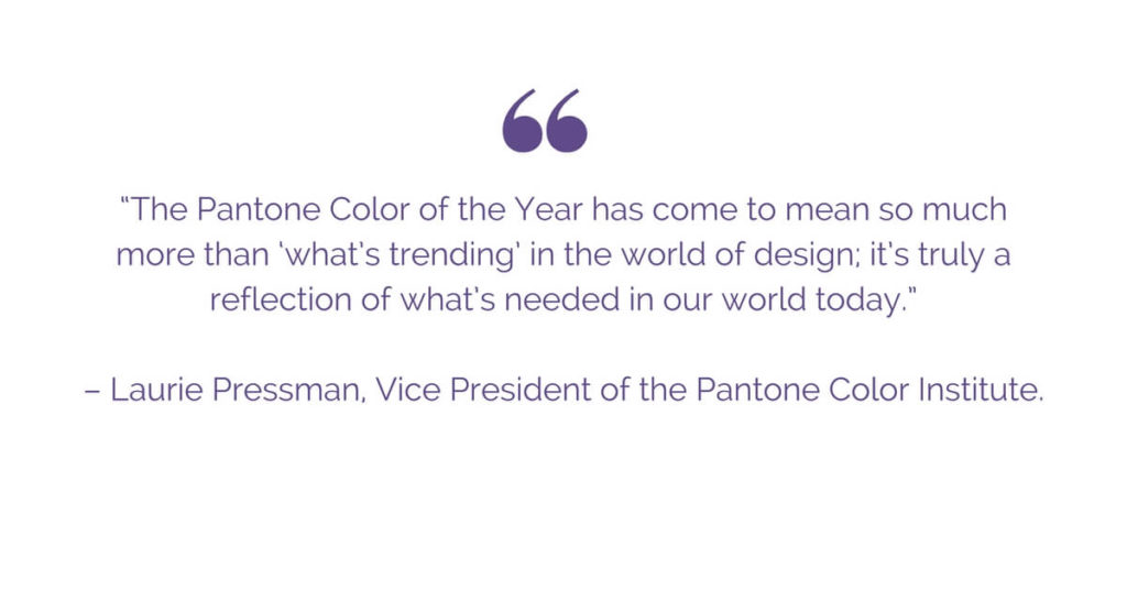 ultra violet color of the year