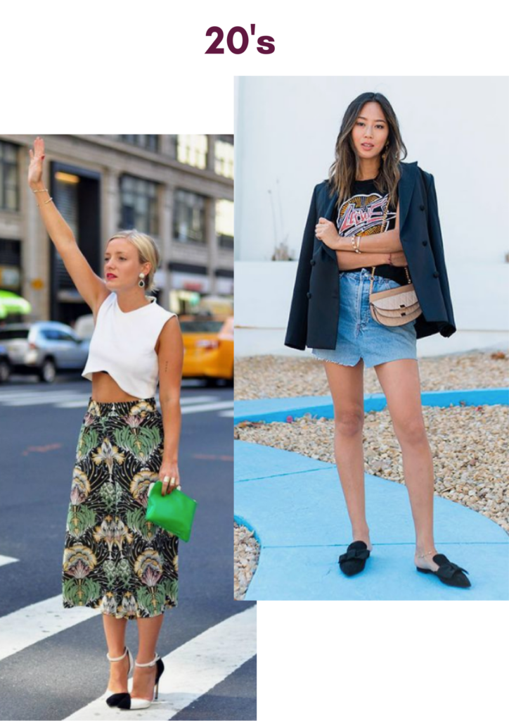skirt styles for girls below 20 years