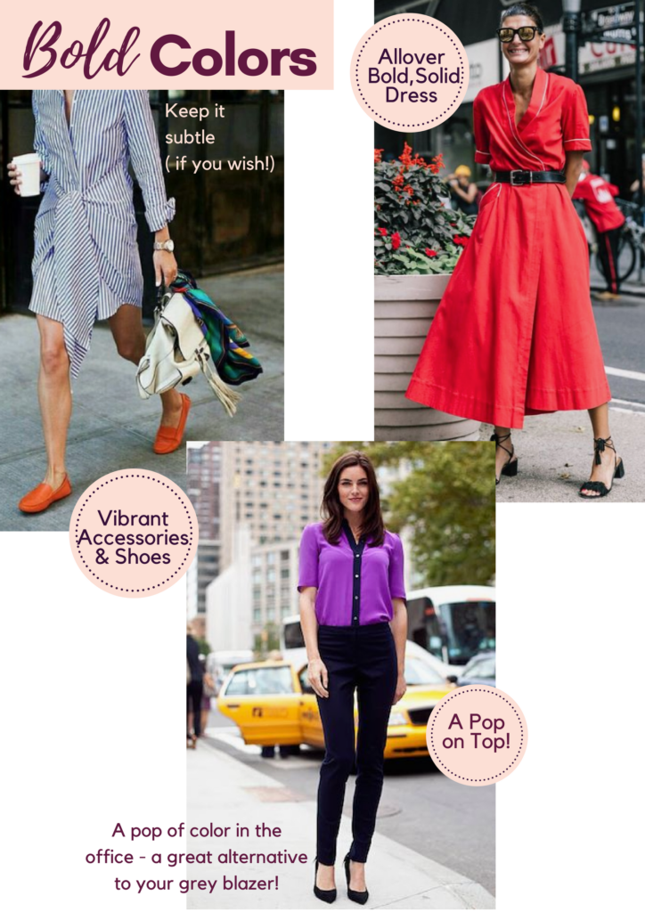 Bold Colors Summer Trend