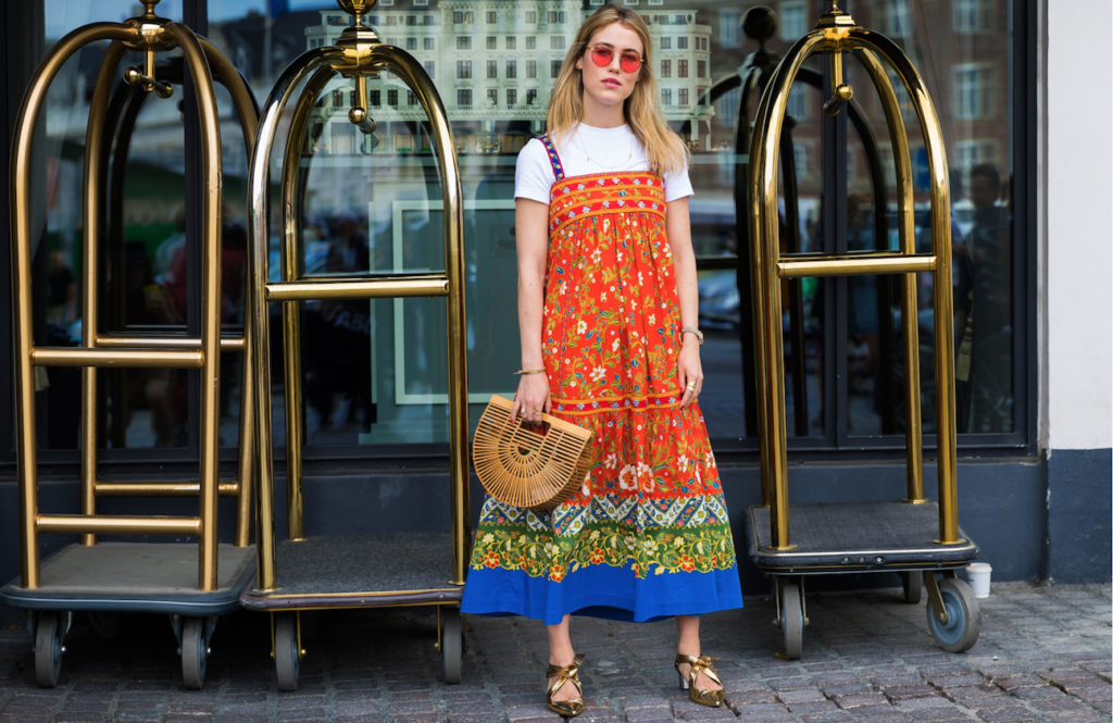 summer look midi dress