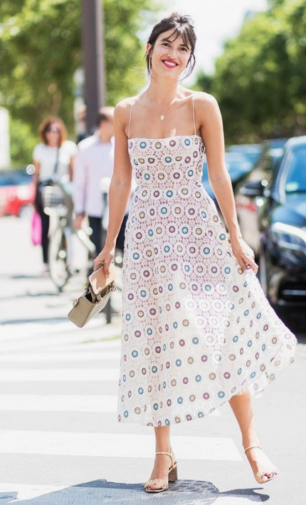 summer look: midi dress