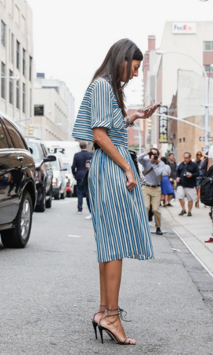 summer look: midi dress