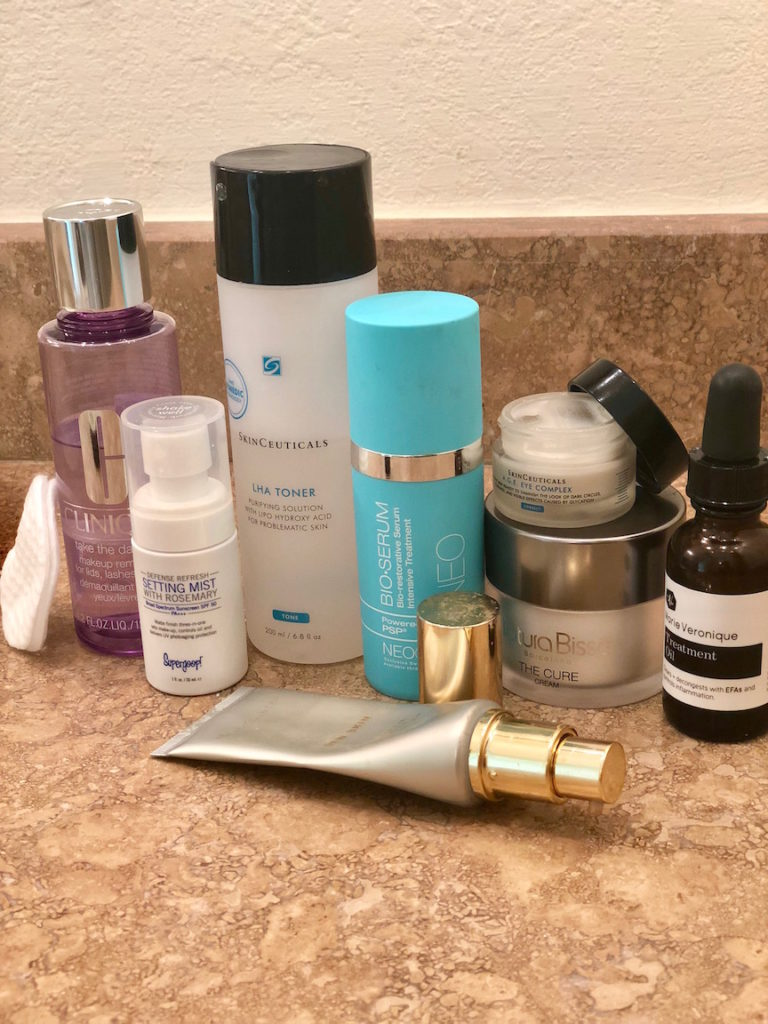 These are the products I personally use in my daily skincare routine.