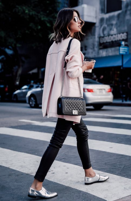 the right way to wear metallic