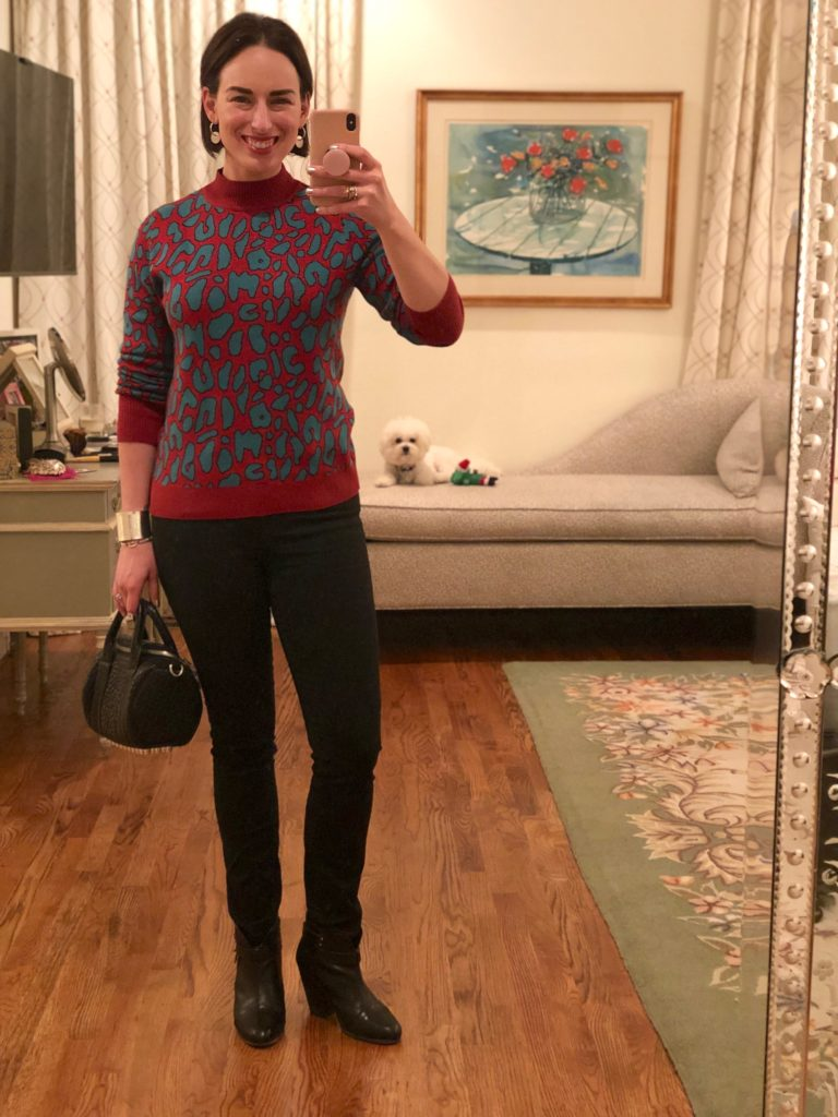 Megan Larussa Sweater Outfit