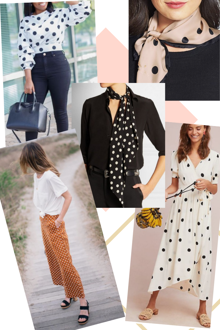 spring/summer 2019 trends polka dot