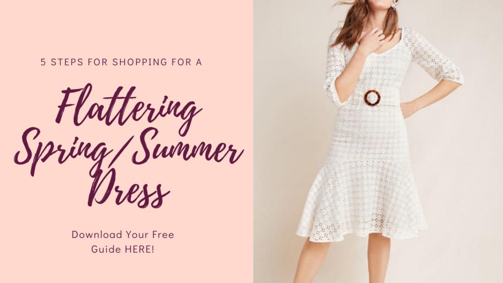 Flattering Spring/Summer Dress