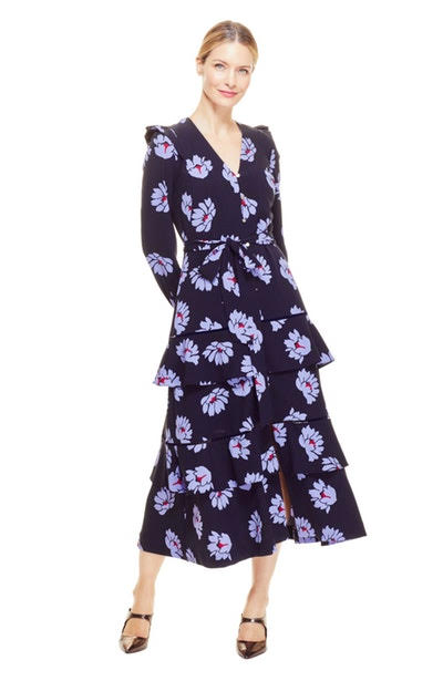 Floral Tie-Waist Dress