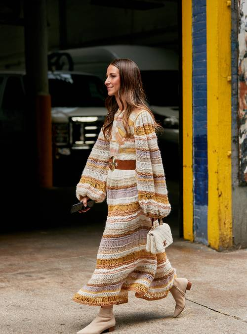 How to Wear Winter Dresses in a Fresh Way