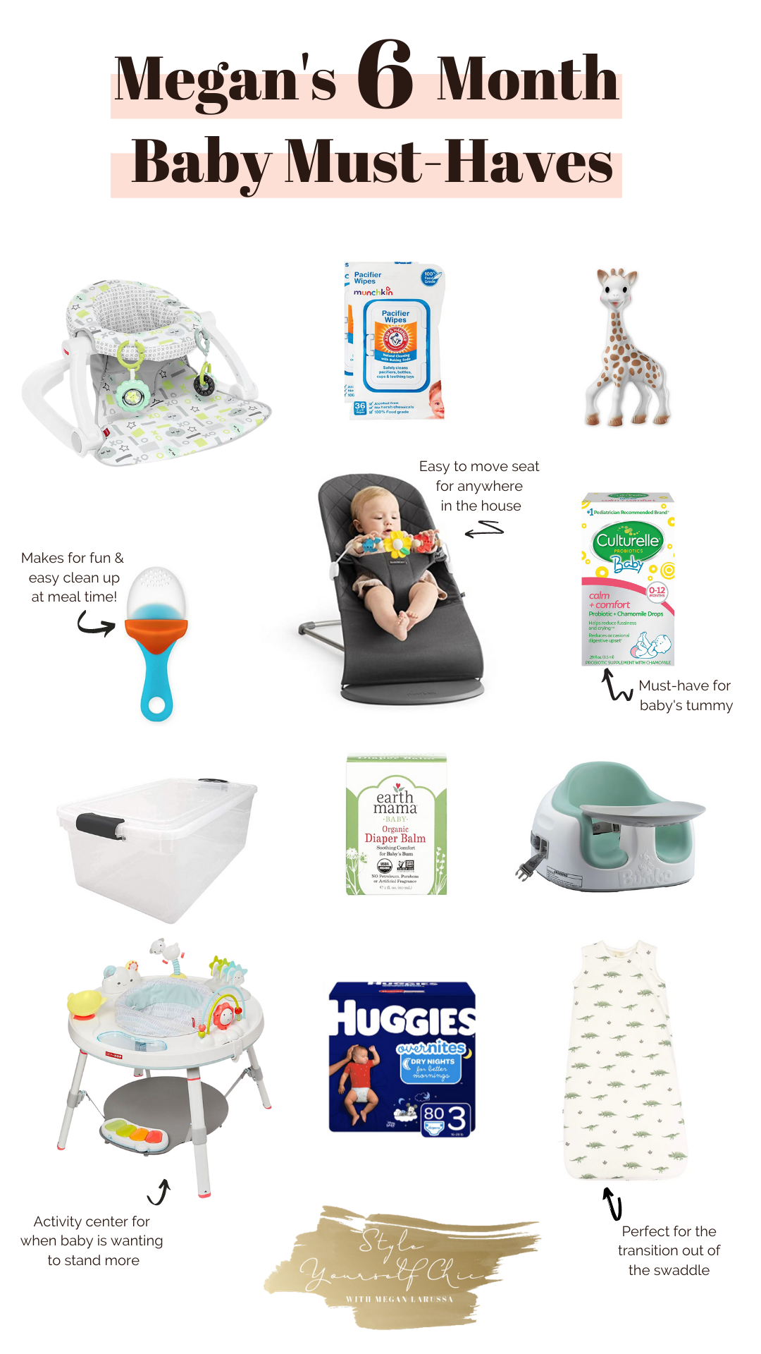 6 month baby must haves
