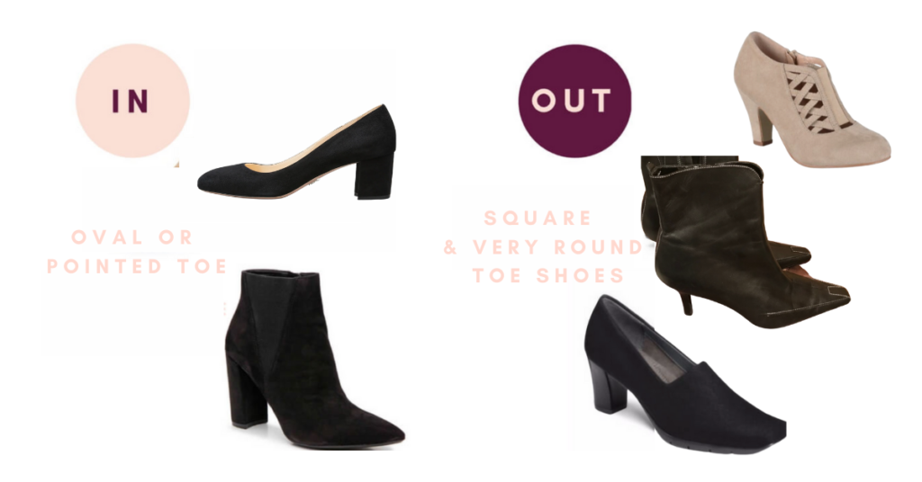 Square & Round Toe Shoes