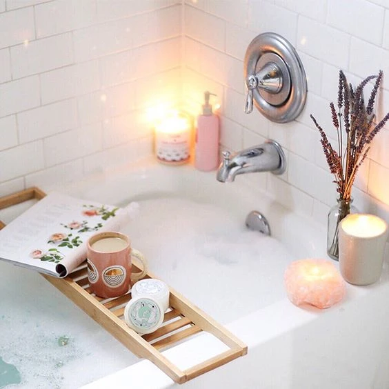 Enjoy a relaxing bath